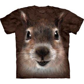 Tričko Obličej veverky