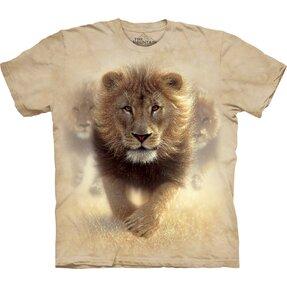 Tričko Lev v poušti