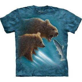 Tričko Medvědi na lovu