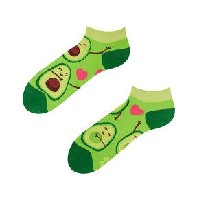 Členkové veselé ponožky Avokádová láska