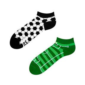 Kotníkové veselé ponožky Fotbal
