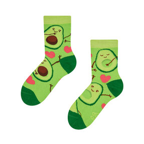 Good Mood Kids Socks Avocado Love