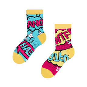Good Mood Kids Socks Comics