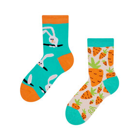 Good Mood Kids Socks Carrot Rabbit