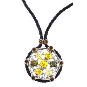 Jantárový náhrdelník Farebná paleta