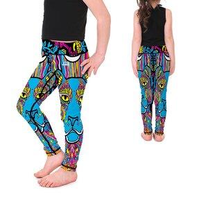 Mädchen Leggings Animal Mandala