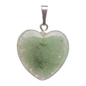 Prívesok Avanturín zelený srdce - kameň šťastia