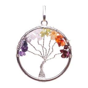 Pandantivul Chakra copacul vieții