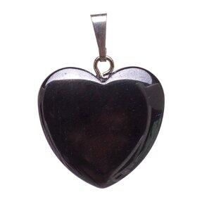 Prívesok Hematit srdce - kameň ochrany