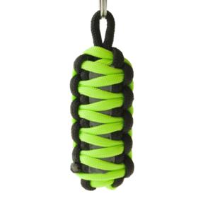 Reflective Paracord Survival Key Chain King Cobra - Green