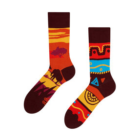 Good Mood Socks - Africa