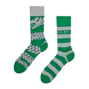 Veselé ponožky Harry Potter - Slizolin