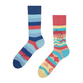 Veselé ponožky Ži, miluj a smej sa