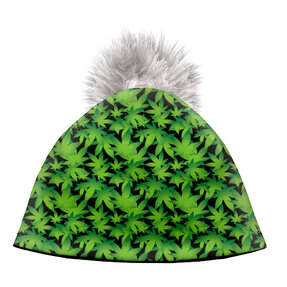 Zimná čiapka Listy konope