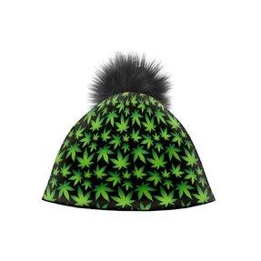 Wintermütze Grüne Pflanzen