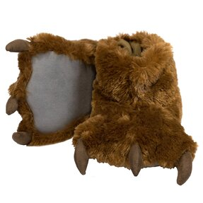 Papuče Labky Hnedého Medveďa