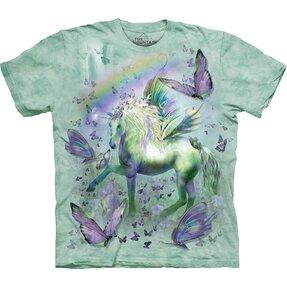 Tričko Motýlí jednorožec - detské