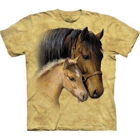 Tričko Nežný dotyk koní - detské