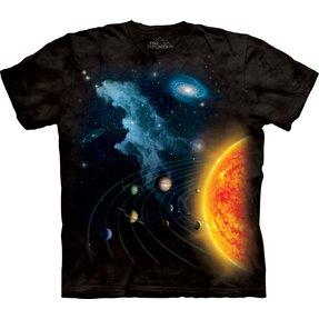 Tričko Slnečná sústava - detské