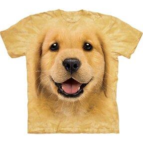 Tričko Zlatý retríver šteniatko - detské