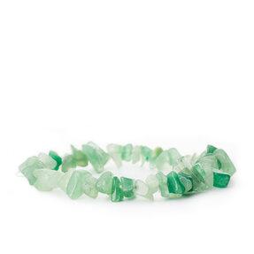 Náramek Avanturín zelená jemnozrnný - kámen štěstí