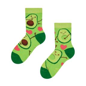 Șosete  vesele pentru copii Iubire de avocado