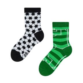 Detské veselé ponožky Futbal