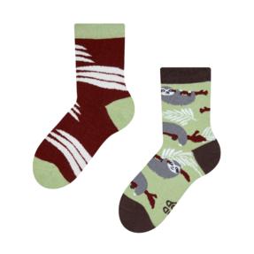 Dětské veselé ponožky Lenochod