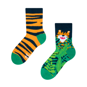 Good Mood Kids Socks Tiger