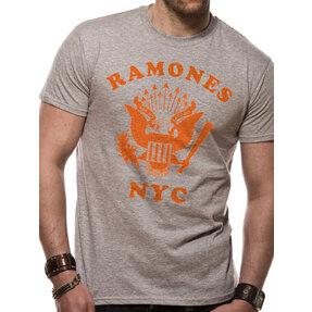 Póló The Ramones - Retro eagle NYC