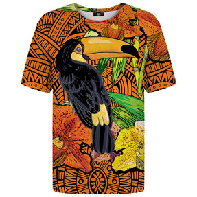 T-shirt with Short Sleeve Toucan