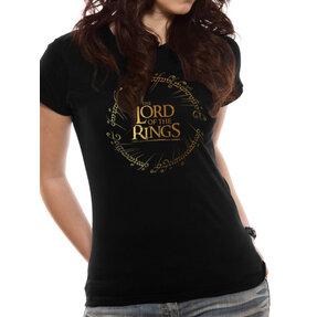 Dámske tričko Pán prsteňov Gold Foil