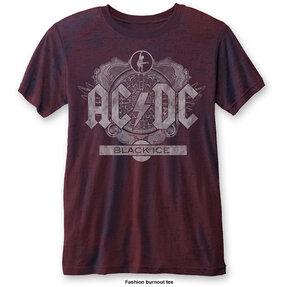 Červené tričko AC/DC Black Ice