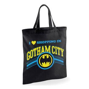 Plátená taška Batman Nakupovanie v Gotham City