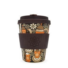 Bambus ecoffee cup Aroma de cafea de dimineață