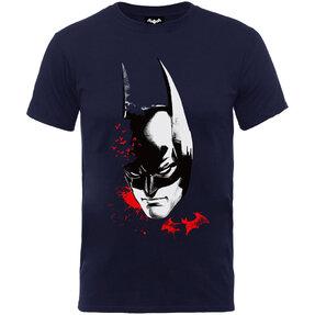 Kinder T-Shirt Schwarz Batman Arkham Face