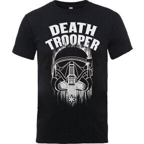 Kinder T-Shirt Schwarz Rogue One Death Trooper