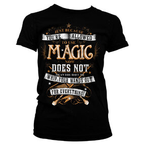 Tricou damă Harry Potter Magic