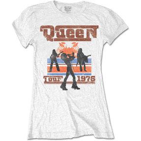 Dámske tričko Queen 1976 Tour Silhouettes
