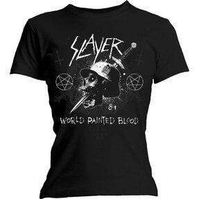 Dámske tričko Slayer Dagger Skull