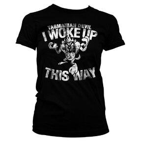 Dámske tričko Tasmanian Devil I woke up this way