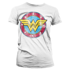 Damen T-Shirt Wonder Woman Logo