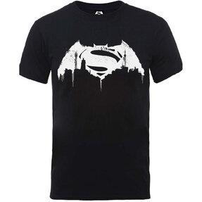 Tričko DC Comics Batman v Superman Beaten Logo