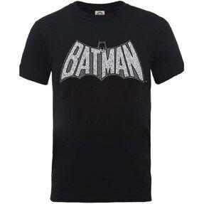 Tričko DC Comics Originals Batman Retro Crackle Logo