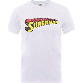 Tričko DC Comics Originals Superman Telescopic Crackle Logo