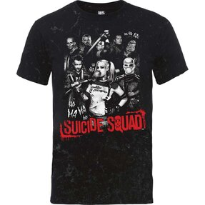 Tričko DC Comics Suicide Squad Harley's Gang