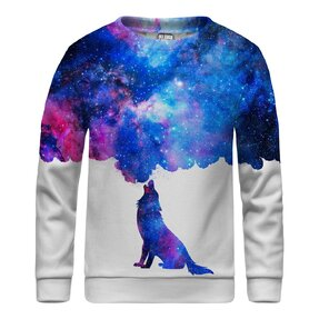 Kinder Sweatshirt ohne Kapuze Howling To Galaxy