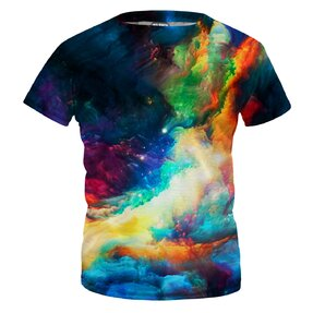 Detské tričko Colorful Space