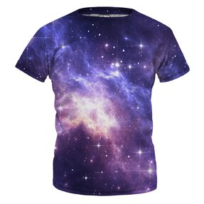 Detské tričko Lightning In Space