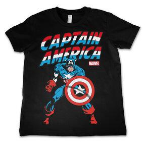 Kinder T-Shirt Marvel Comics Captain America America